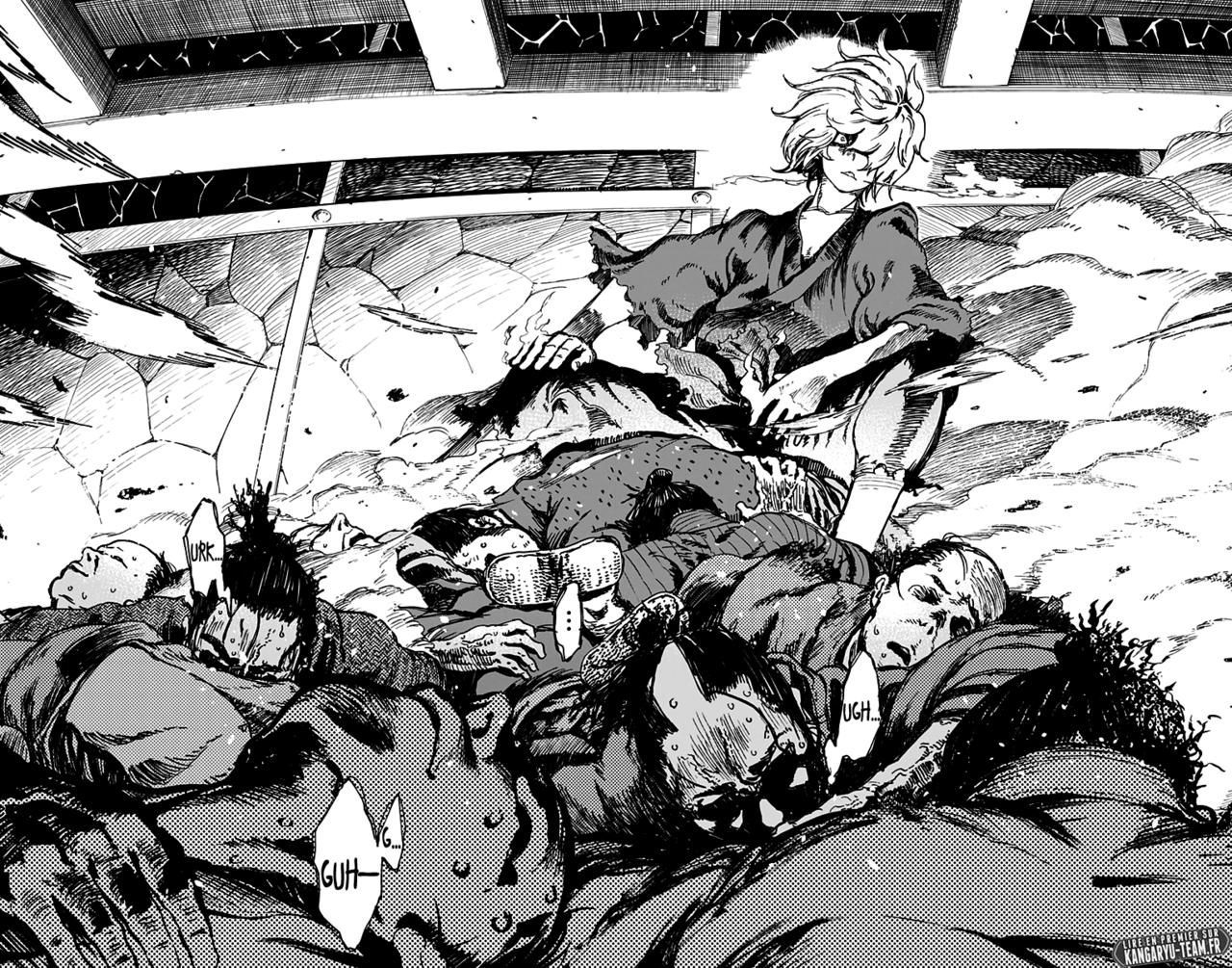 Gabimaru, le héros de Jigokuraku